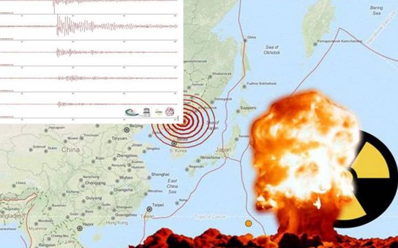 πυρηνικής δοκιμής στην Βόρεια Κορέα