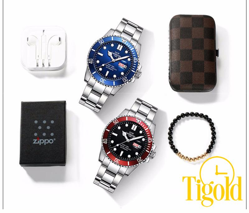 đồng hồ đeo tay nam carnival đẹp