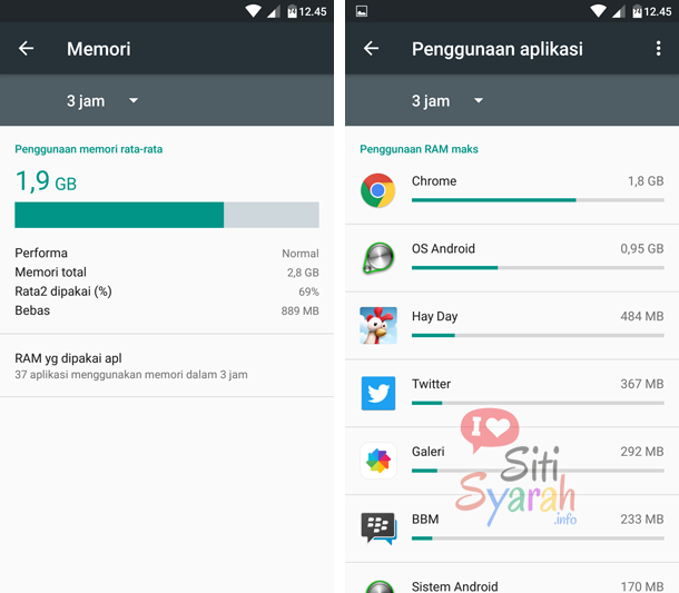 akibat terlalu banyak install aplikasi android