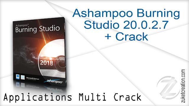 Ashampoo Burning Studio 20.0.2.7 + Crack