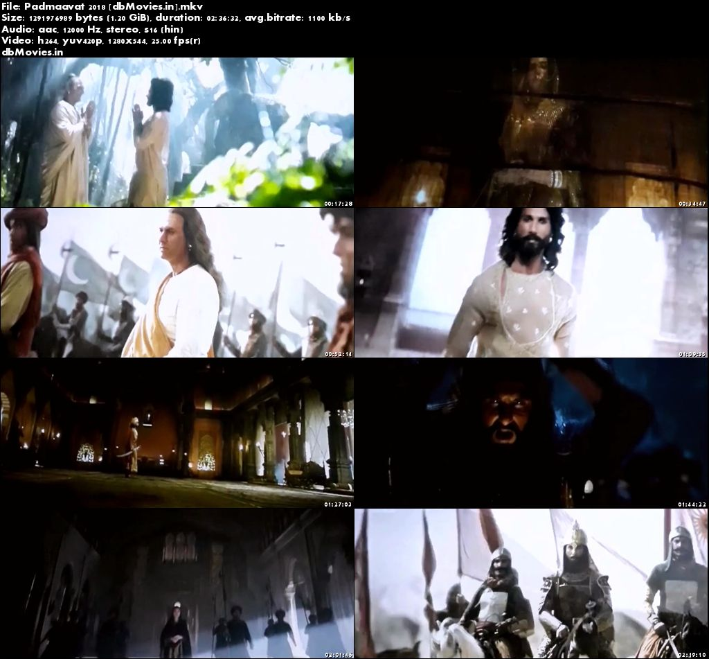 Screen Shots Padmavati 2018 Full Movie Download HD 720p Free