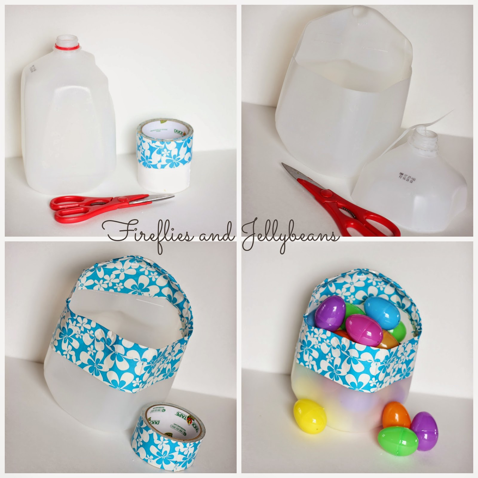 Baskets Easter Cartons Milk Out