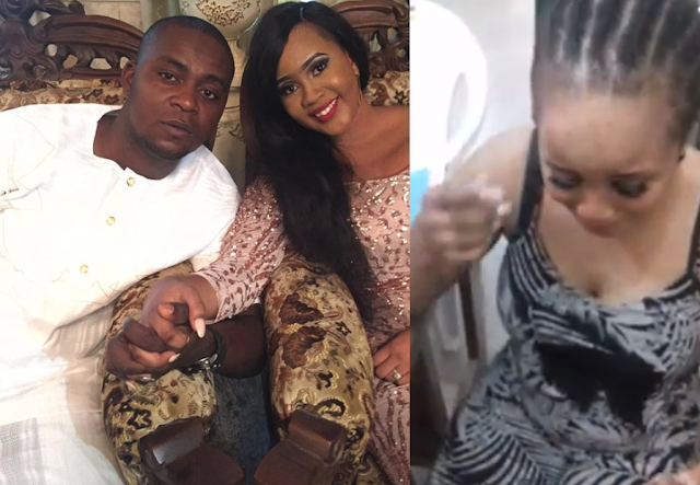 Breaking News :Amb Dion Osagie Allegedly Beats & Locked Up His Wife,Winifred In Their House In Edo State(VIDEO)