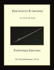 Violin & Viola Bow Science