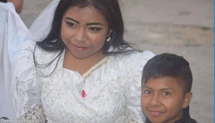 Η αλήθεια πίσω από τις φωτογραφίες που συγκλόνισαν για τον γάμο μιας γυναίκας και ενός αγοριού στο Μεξικό! (VID)