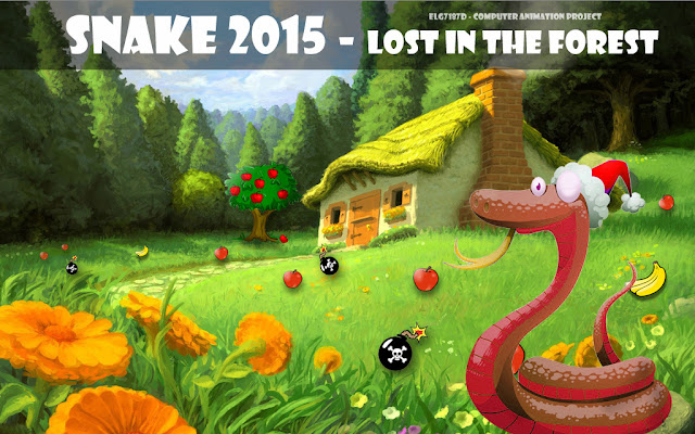 Snake 2015 - Java Game & 3D Animation Project using 3Ds Max