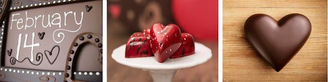 шоколад на 14 февраля