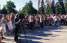 Крымчане, вдохновившись примером Навального, выходят на несанкционированные митинги против местной власти