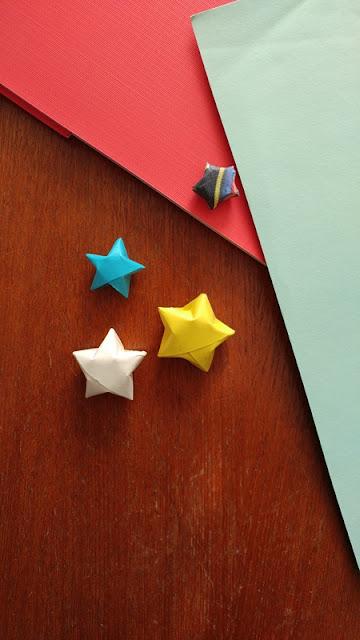 make paper stars