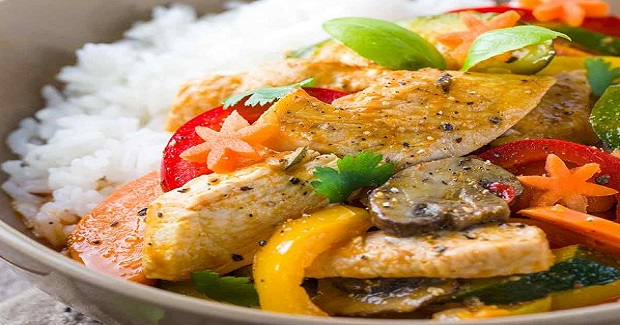Thai Chicken Curry With Coconut Milk Recipe