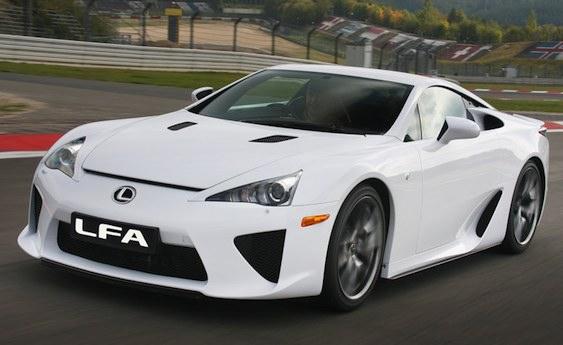 2012 lexus lfa review advertiment