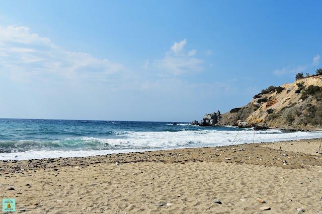 Abrami Beach en Naxos