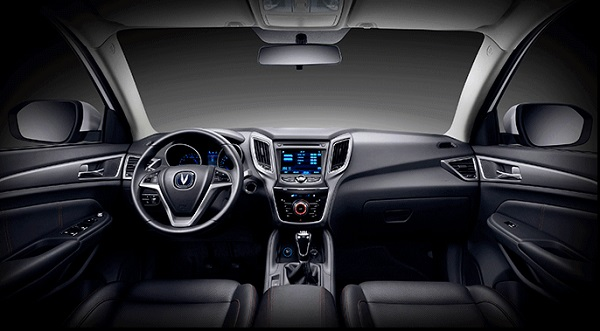 Interior Changan CS75 Argentina
