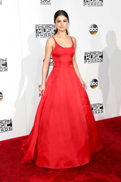 AMAs, red carpet, Selena Gomez