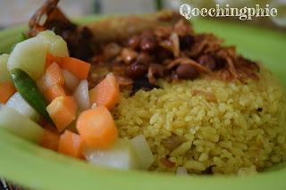 Resep dan Cara Membuat Nasi Kebuli Ayam versi Magiccom