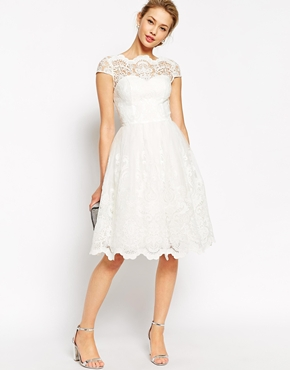Cutest Registry Office Gown For Wedding Ceremony