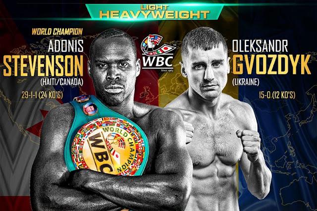 Adonis Stevenson vs. Oleksandr Gvozdyk Live Results