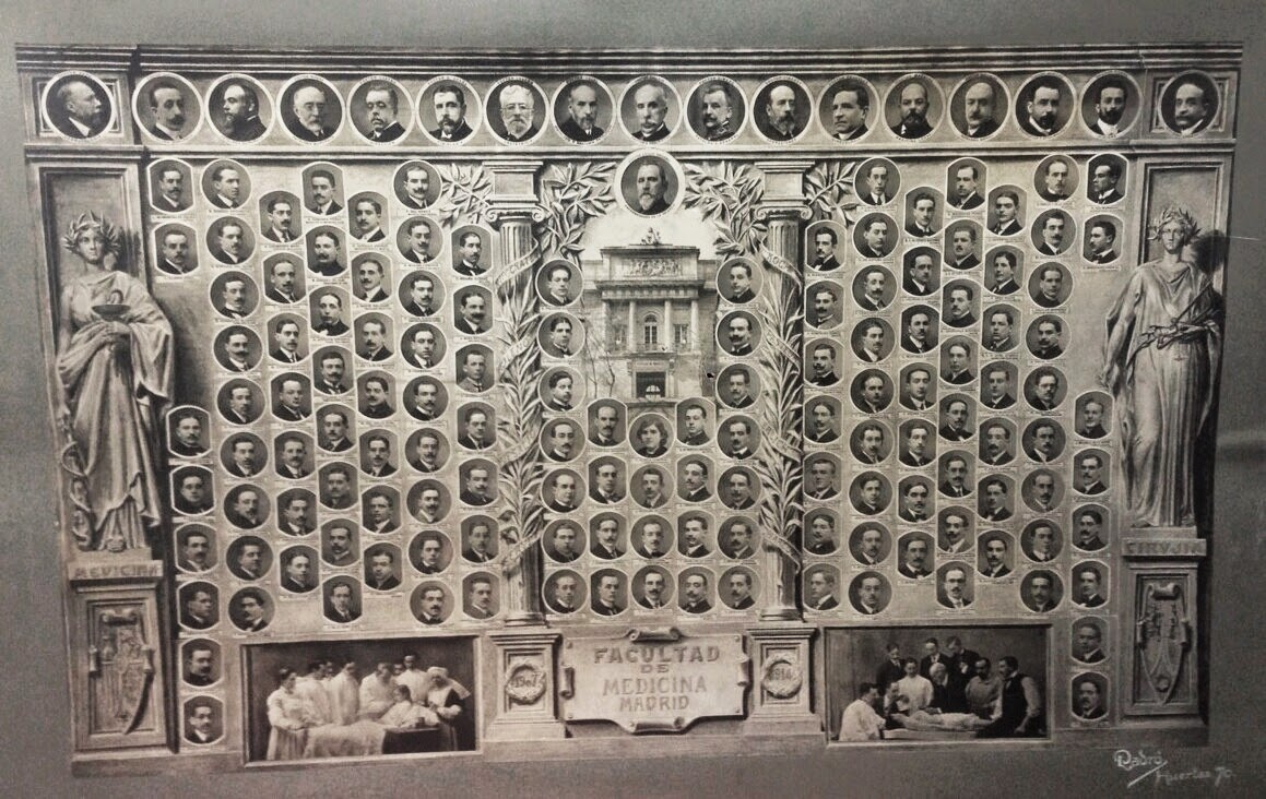 Universidad Cental Licenciados en MEDICINA 1907-1914