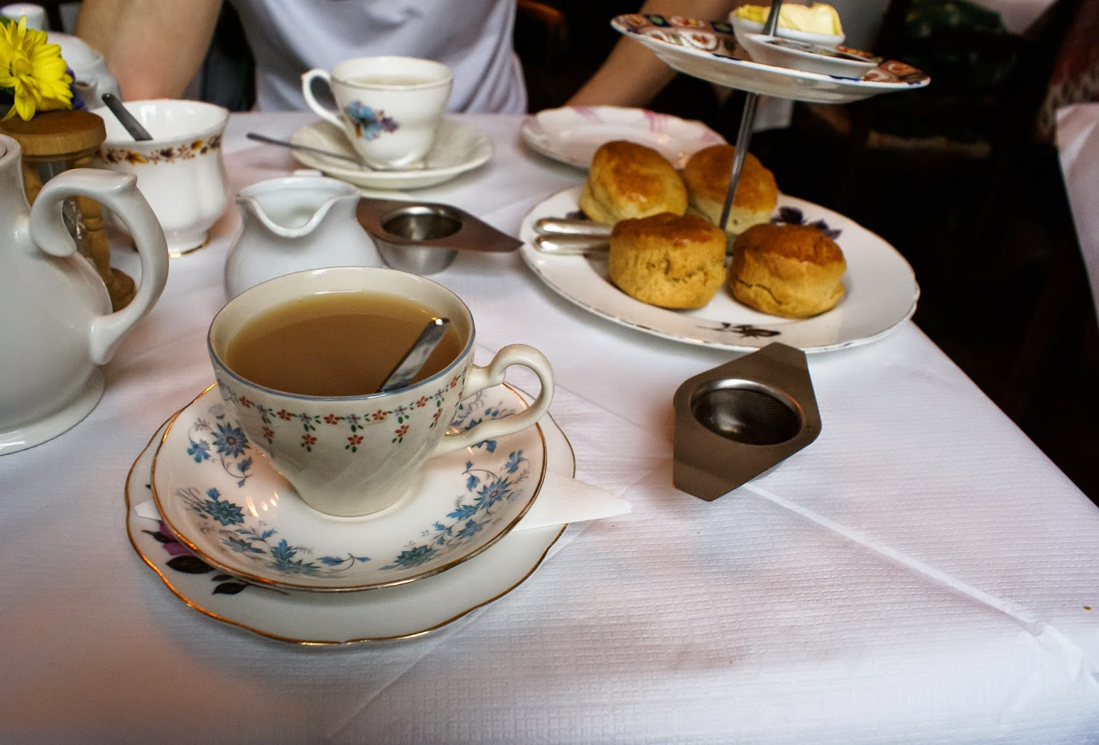 secret tea room soho london uk england britain
