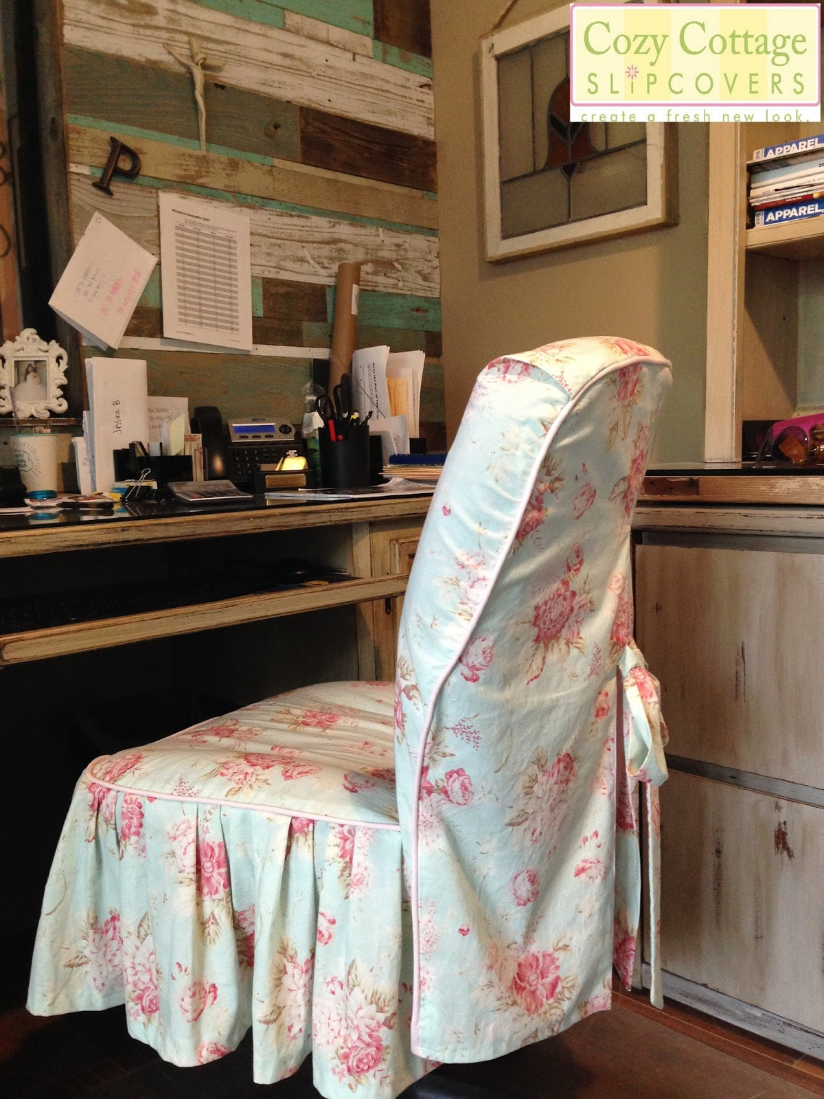 Cozy Cottage Slipcovers Shabby Chic Texas Style in the fice