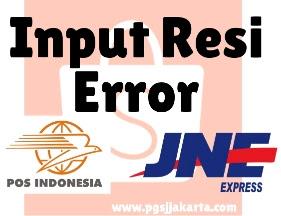 Cara melaporkan kesalahan ketika input resi pengiriman di shopee.id