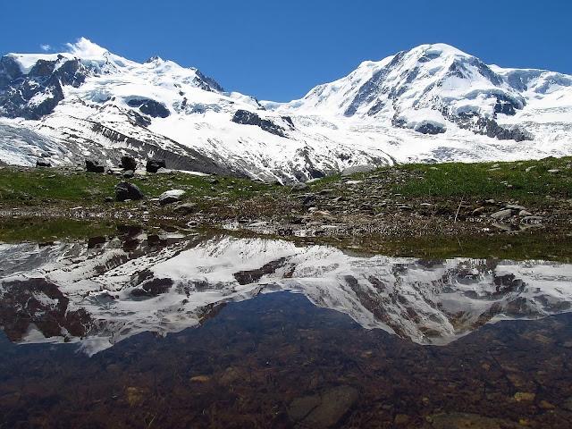Widok na Monte Rosa