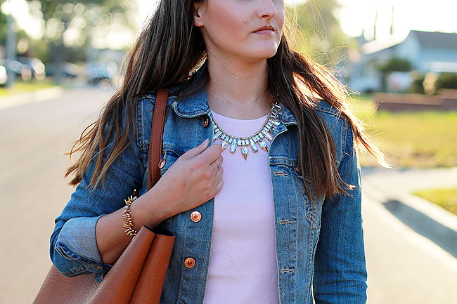 Sparkly Statement Necklace A Good Hue