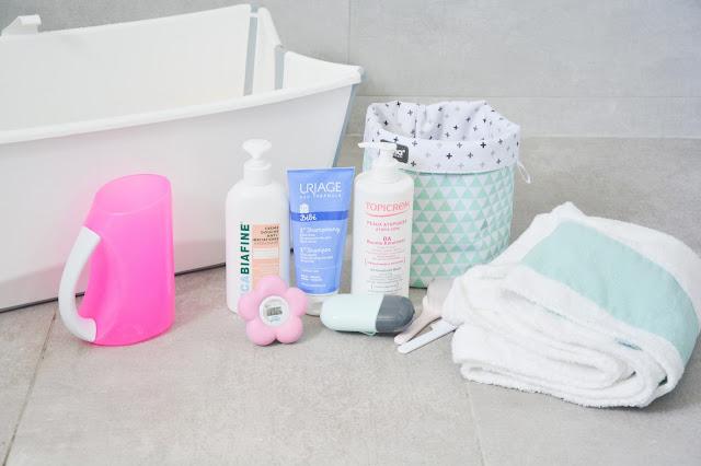 Routine bain de bébé : nos indispensables