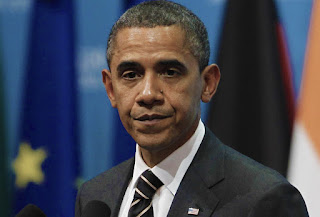picture of a disinterested Barack Obama