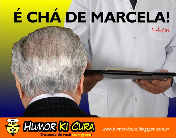 Piada: Chá de Marcela para curar Temer - HUMOR KI CURA