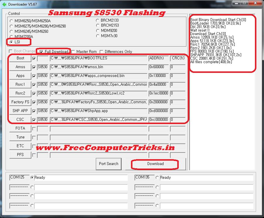 samsung s8003 multiloader