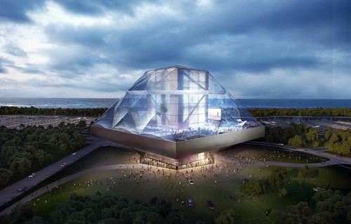 数々の素晴らしい建築を創造したOMAはプレゼンテーションも素晴らしい。このシカゴのルーカス文化芸術博物館のビデオを見て感動した。