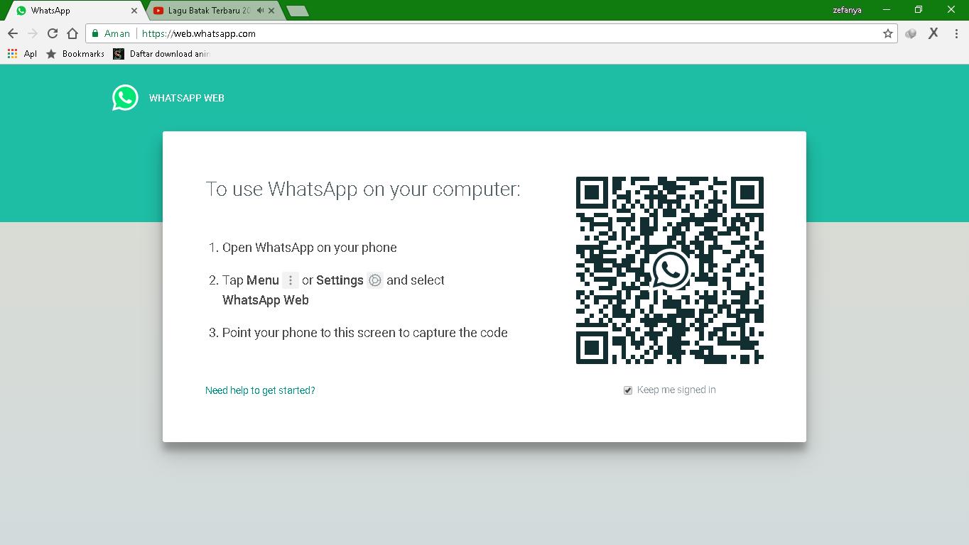 download whatsapp web for pc terbaru