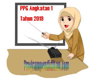 PPG Angkatan 1 Tahun 2019