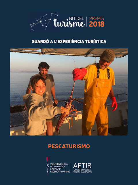 Pescaturismo, premio de Turismo 2018