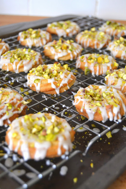 pistachio and limoncello cookies