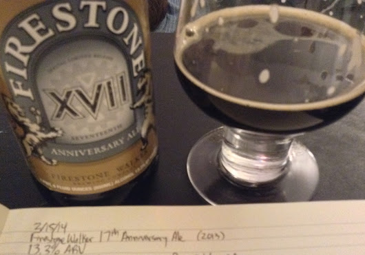 Review: Firestone Walker 17th Anniversary Ale