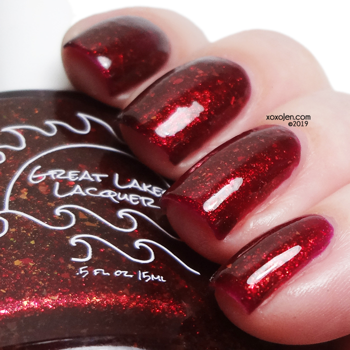 xoxoJen's swatch of Great Lakes Lacquer Stuff & Thangs v2