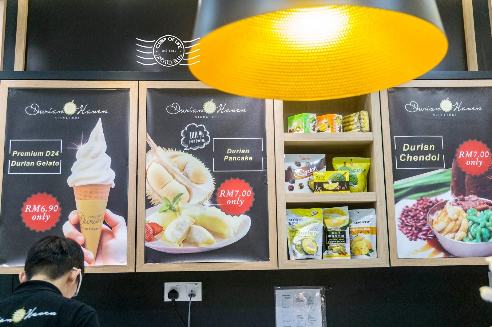 Durian Haven Dessert Queensbay Mall