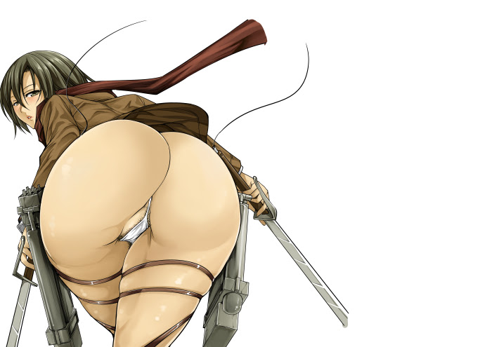 attack on titan girls butt