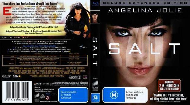 Salt – Versão Estendida Torrent - BluRay Rip 720p e 1080p Dual Áudio 5.1 (2010)