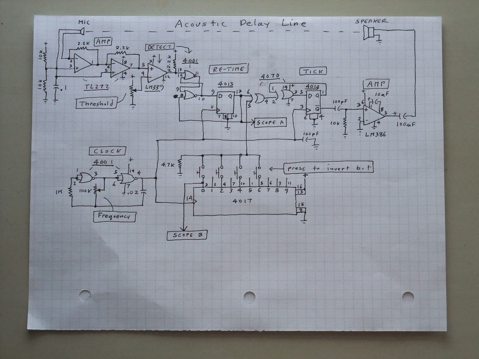 rc delay circuit lab chip 2