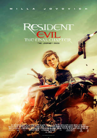 Resident Evil The Final Chapter 2017 BRRip 480p Dual Audio 300Mb ESub