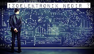 İzoelektronik nedir