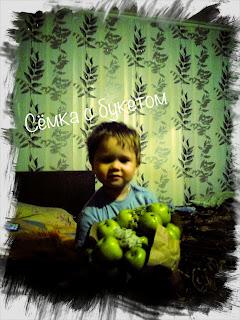 фото букета из фруктов