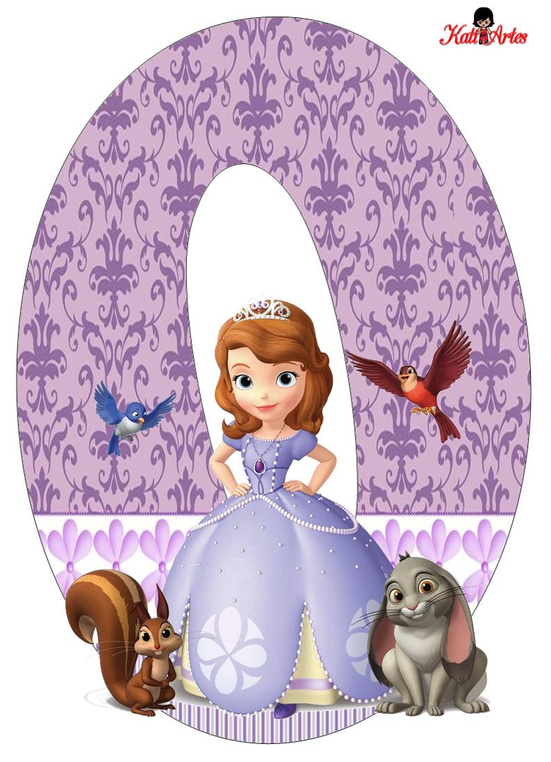 alfabeto de princesa sof u00eda