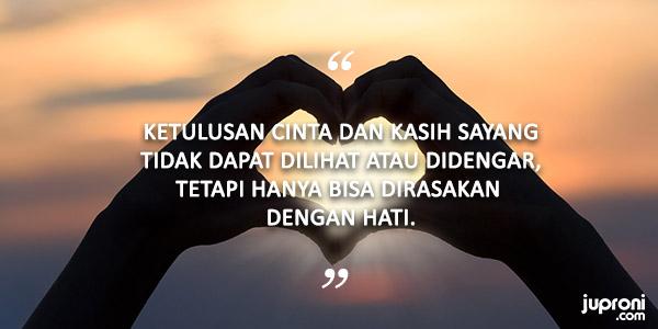 Kata Kata Mutiara Tentang Ketulusan Hati Mencintai Seseorang
