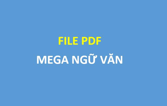 [PDF] - Mega Ngữ Văn