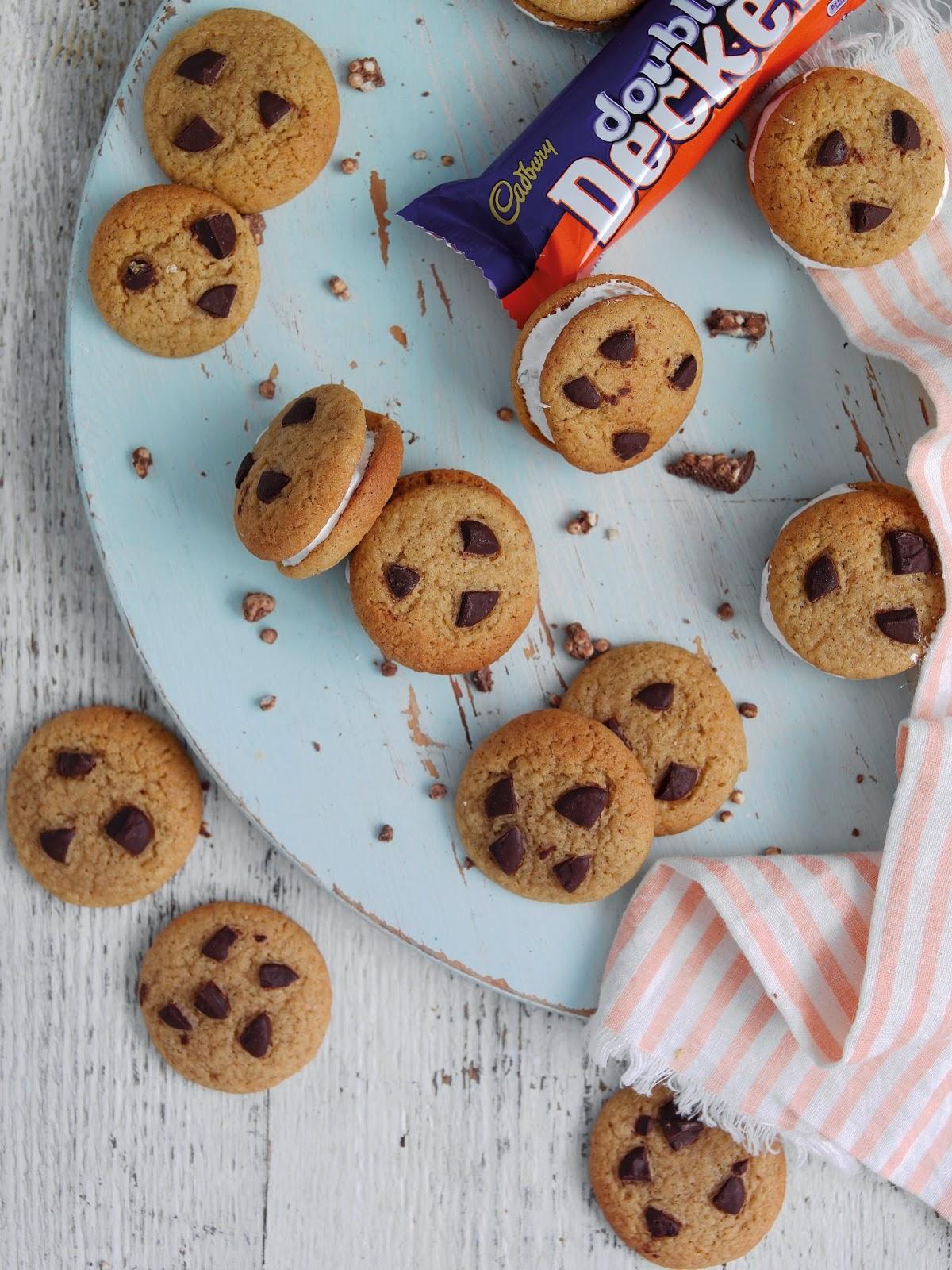 Double Decker Cookie Sandwiches