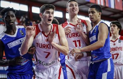 FIBA U17 World Cup Türkiye - Dominik Mustafa Kurtuldum